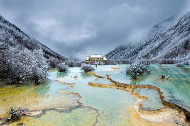 Huanglong Valley, China (7)