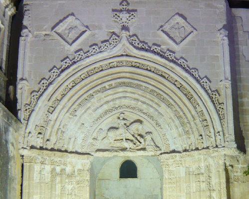 Il Portale di San Giorgio a Ragusa Ibla fotografato di sera