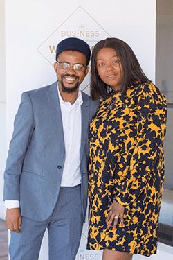 Katlego Ditlhokwe and Khuthala Gala-Holten of