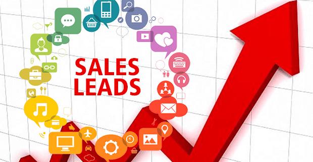Sales lead generation graphic