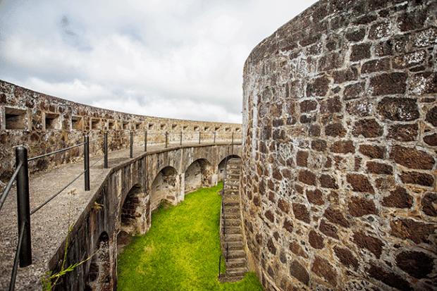 st helena island fort