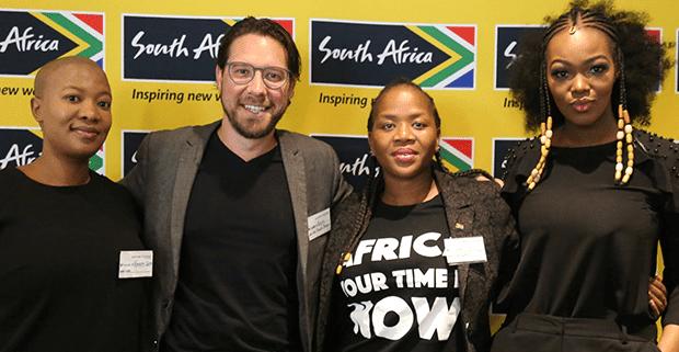 Brand South Africa partnership team
