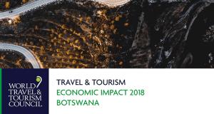 wttc economic impact report Botswana