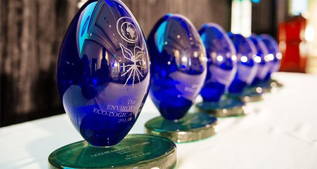 Eco-logic Awards trophies