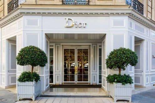 Dior Shopfront, Paris
