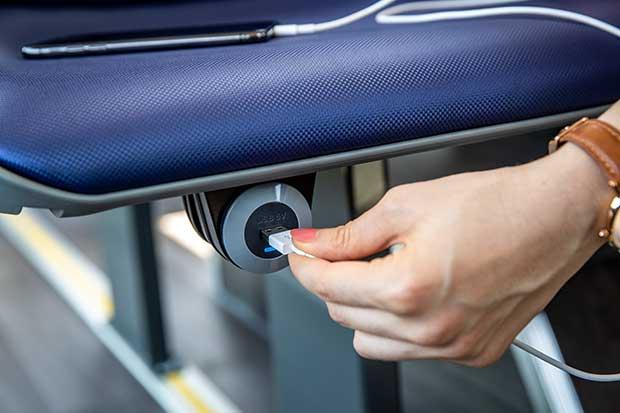 Mercedes-Benz Sprinter USB Ports