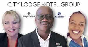City Lodge Hotel Group general managers Elizabeth Clarke, Mduduzi Mnyakeni, and Sinazo Mazantsana.