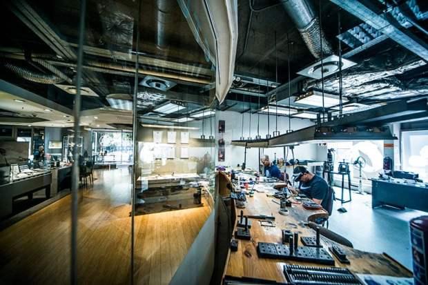 The The Diamond Works Cape Town studio
