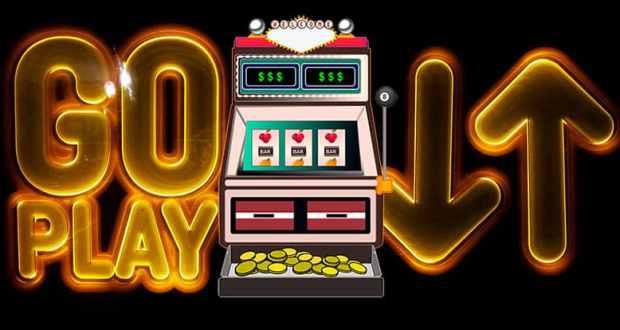 Casino slots gaming graphic