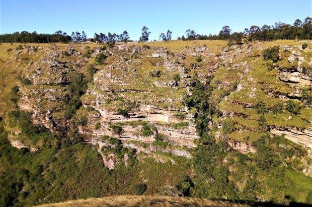 KwaXolo Caves gorge
