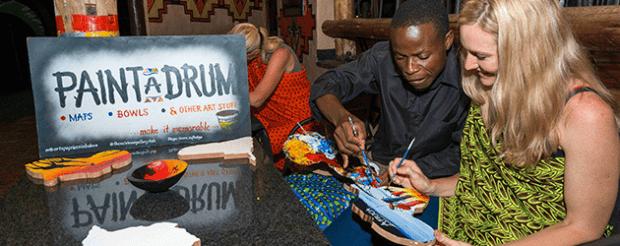 Africa-Albida-Tourism-Boma-Painting