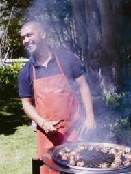 Chef Reuben Riffel in action LR