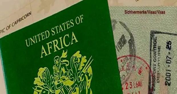 United States of Africa Passport