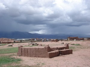 Ancient water management in Tiahuanaco Bolivia