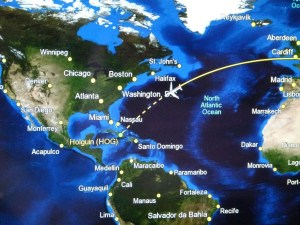 Fly sustainable flight routes