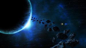 Water on earth from asteroids