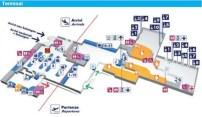 Flughafen Ciampino Zeichnung