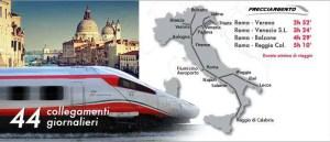 Rom Anreise Netz Frecciargento