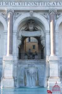 Fontana Acqua Paola vereist