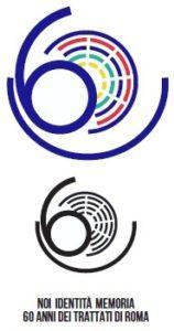 Logo 60 anniversario Trattati di Roma