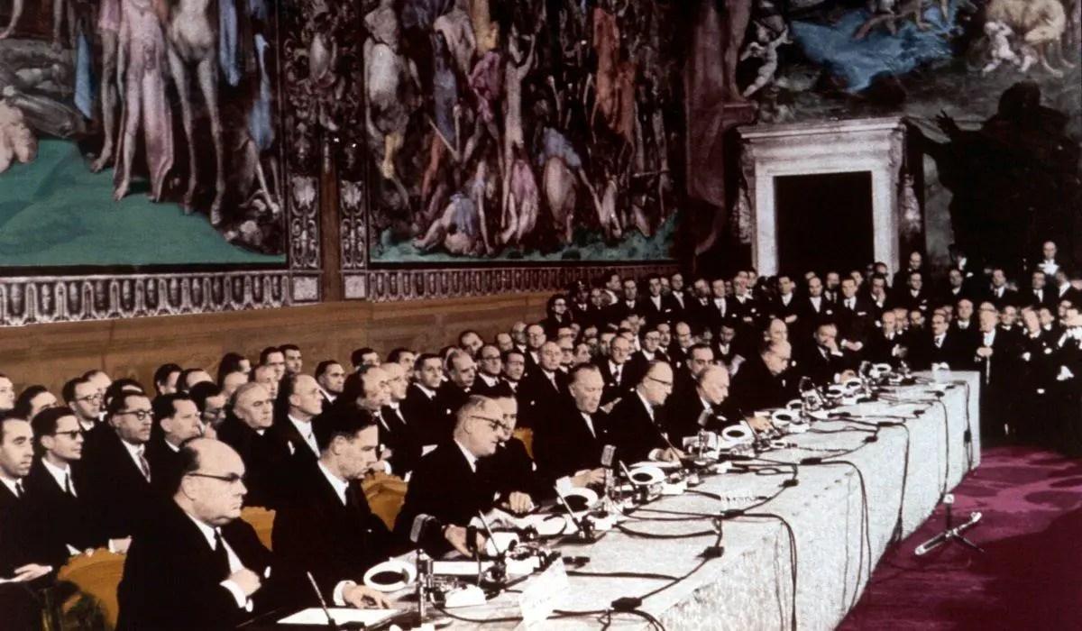 Unterzeichnung Römische Verträge 1957