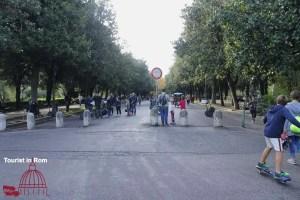 Jogging in Rom Pincio Villa Borghese