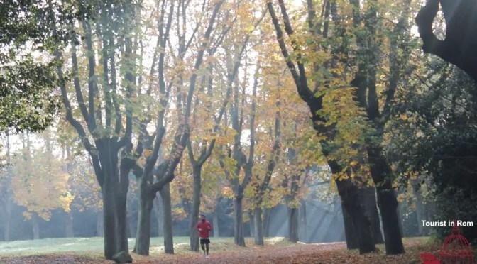 Jogging in Rom Jogging in RomeHerbst Villa Pamphili
