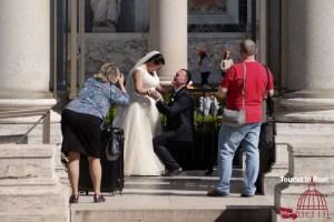Hochzeit in Rom Fotoshooting