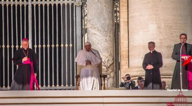 Papstaudienz Eintrittskarten Zeiten Ablauf