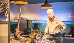The Fisherman Burger Restaurant Rom