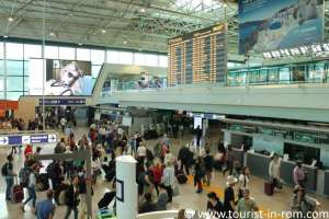 Fiumicino departure hall T3