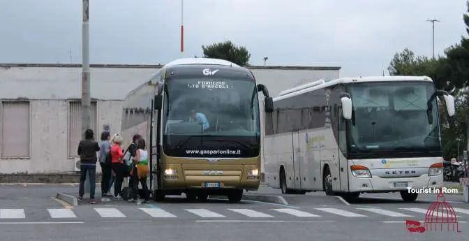 Transfer Bus Ciampino airport