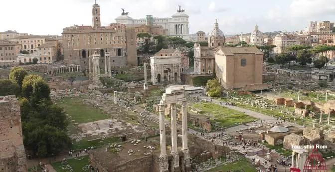 Das antike Rom · Palatin, Forum Romanum und Umgebung