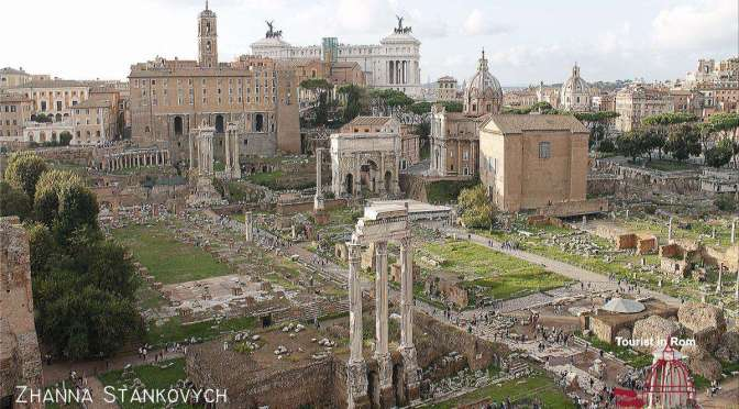 Antikes Rom Ancient Rome Forum Romanum