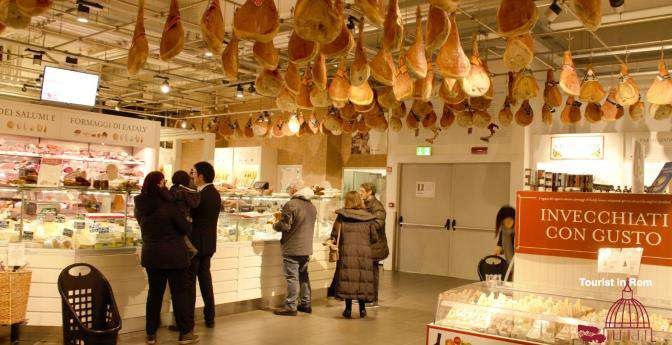 Groceries in Rome Lebensmittelgeschaefte in Rom Eataly