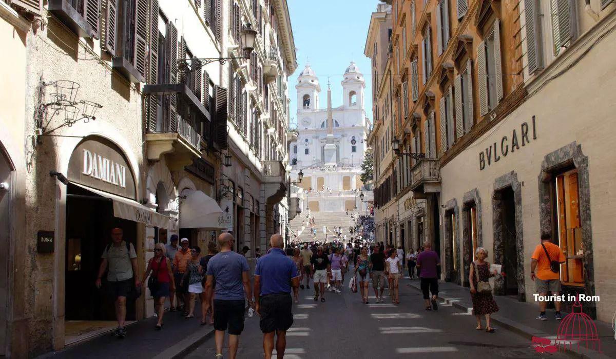 Shopping in Rom Via dei Condotti