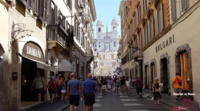 Shopping in Rom · Einkaufen in Rom
