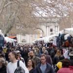 Porta Portese flea market Rome