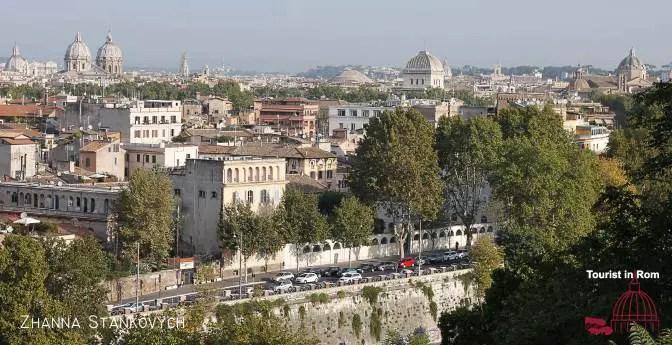 Drei Tage in Rom · ein Vormittag in Rom · Aventin und Testaccio