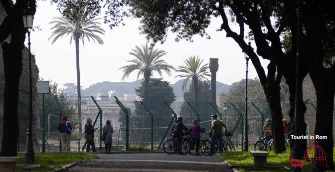 Drei Tage in Rom · ein Nachmittag in Rom · Caelius und Oppius Hügel