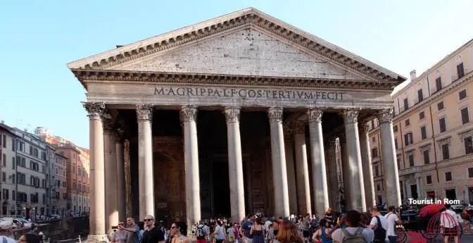 Rom Stadtzentrum Pantheon Rom in 3 Tagen