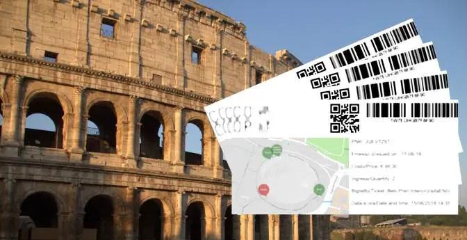 Kolosseum Tickets Colosseum tickets