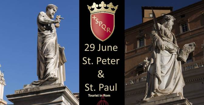 Rome City Patrons Peter and Paul Festival 29 June
