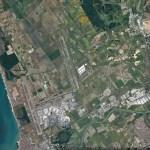 Flughafen Fiumicino Satellitenfoto