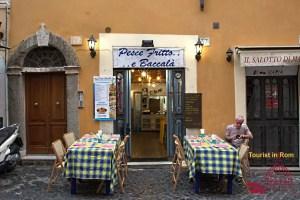 Rome street food pesce fritto e baccala