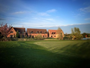 View of the cottages from our Golf Course