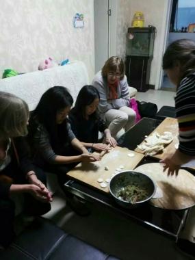 Making Dumplings in Local's Home