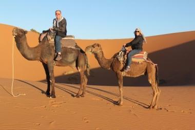 camel trekking for free
