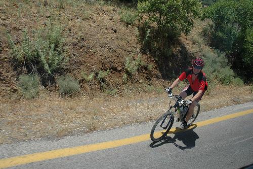 Biking in the Golan by Flickr user Gaspa