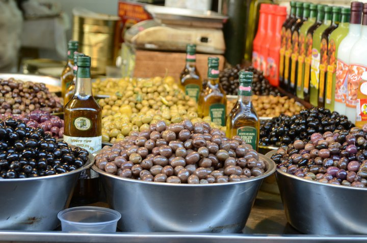 Machane Yehuda Market – also known as the Shuk